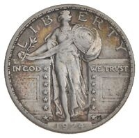 1924 D STANDING LIBERTY QUARTER   PRESTIGE COIN COLLECTION