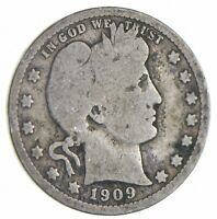 BETTER 1909 O   US BARBER 90  SILVER QUARTER COIN COLLECTION
