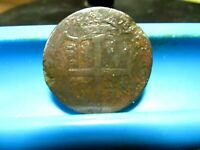 U.S. COLONIAL   1773 VIRGINIA 1/2 PENNY   AG G          B 51