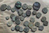 THIRTY CULL ANCIENT ROMAN COINS   ONE WITH A COUNTERMARK