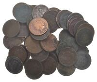 50  1890   1909 ERA INDIAN HEAD CENTS   PENNY LOT COLLECTIO