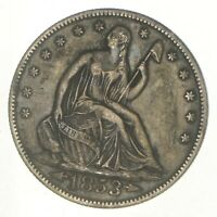 1853 O SEATED LIBERTY HALF DOLLAR   CHARLES COIN COLLECTION