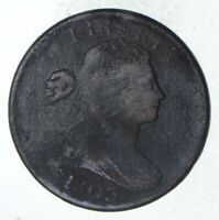 1803 DRAPED BUST LARGE CENT - CIRCULATED 9337