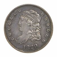 1829 CAPPED BUST HALF DIME 4593