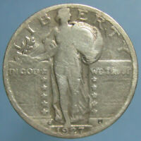 KEY DATE 1927 S STANDING LIBERTY QUARTER   GOOD TO GOOD CONDITION