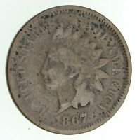 1867 INDIAN HEAD CENT - CIRCULATED 4810