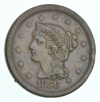BETTER 1856 BRAIDED HAIR US LARGE CENT PENNY COIN COLLECTION