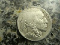 1918S BUFFALO NICKEL VF DETAILS RB3308 55C SHIPPING,SHIPS FREE ON 3 OR MORE