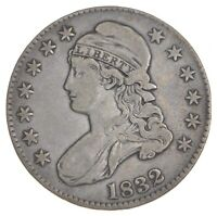 1832 CAPPED BUST HALF DOLLAR 7390