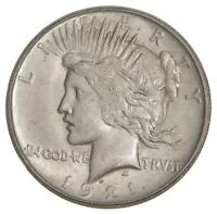 1921 PEACE SILVER DOLLAR - HIGH RELIEF 7551