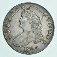1824 CAPPED BUST HALF DOLLAR 6110