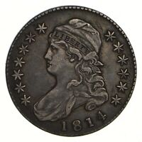 1814 CAPPED BUST HALF DOLLAR - CIRCULATED 2165