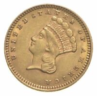 1873 $1.00 INDIAN PRINCESS HEAD   U.S. GOLD COIN  273
