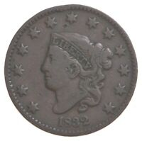 BETTER 1832 MATRON HEAD US LARGE CENT PENNY   COIN COLLECTIO