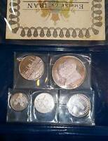SILVER 1971 5 PIECE PROOF SET