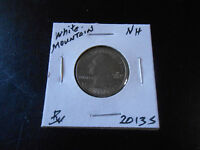 2013 S: BU. WHITE MOUNTAIN QUARTER AMERICA THE BEAUTIFUL FRO