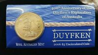ROYAL AUST MINT 400TH ANNIVERSARY DUYFKEN $5 UNCIRCULATED CO