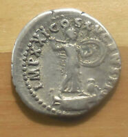 DOMITIAN AR DENARIUS ROME AD. 93 94. RIC 762. MINERVA AND OWL  3 DAY AUCTION