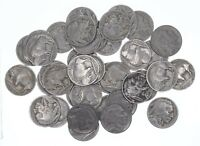 FULL DATE MOSTLY 1930 1938 BUFFALO NICKEL ROLL COLLECTION 40 COINS