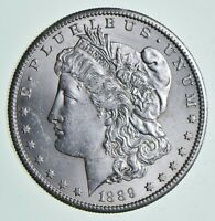 1889-S MORGAN SILVER DOLLAR 6876