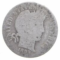 BETTER 1899   US BARBER LIBERTY SILVER DIME COIN COLLECTION