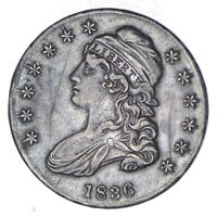 1836 CAPPED BUST HALF DOLLAR - CIRCULATED 8959