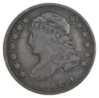 1830 CAPPED BUST DIME - SMALL 10C 7339