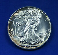 1947 WALKING LIBERTY SILVER HALF DOLLAR -- GEM MS/BU