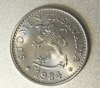 FINLAND 1984 10 PENNIA ABSOLUTELY FLAWLESS UNCIRCULATED