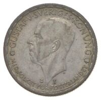 ROUGHLY THE SIZE OF A QUARTER   1946 SWEDEN 1 KRONA   WORLD