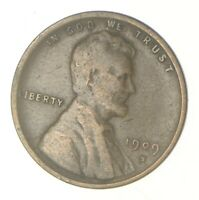 KEY DATE   1909 S LINCOLN WHEAT CENT   FIRST YEAR ISSUE   RA