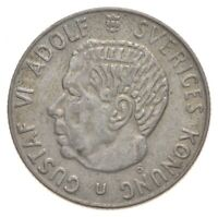 ROUGHLY THE SIZE OF A QUARTER   1968 SWEDEN 1 KRONA   WORLD