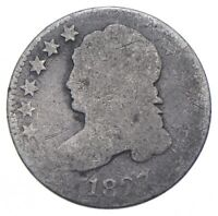 EARLY   1827   CAPPED BUST DIME   EAGLE REVERSE   TOUGH   US
