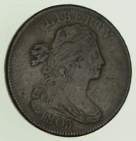 1803 DRAPED BUST LARGE CENT - CIRCULATED 8137
