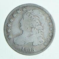 1835 CAPPED BUST DIME   CHARLES COIN COLLECTION  151