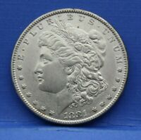 1881 MORGAN SILVER DOLLAR ALMOST UNCIRCULATED AU