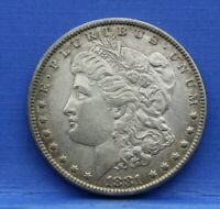 1881 MORGAN SILVER DOLLAR ALMOST UNCIRCULATED AU SP54