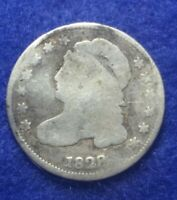 1829 CAPPED BUST DIME   GOOD