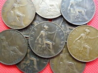 ONE PENNY COINS -  KING EDWARD VII  -  1902 TO 1910  -  PICK YOUR COINS  OS01