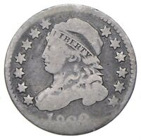 EARLY   1828   CAPPED BUST DIME   EAGLE REVERSE   TOUGH   US