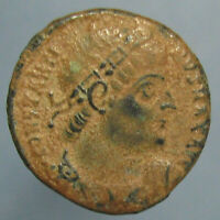 CONSTANTINE THE GREAT GLORIA EXERCITVS AE 3 WITH NICE RED SAND PATINA