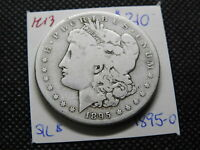 1895-S $1 MORGAN SILVER DOLLAR  G/VG  LIGHTLY CLEANED KEY DATE