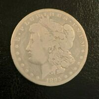 1895 O MORGAN SILVER DOLLAR,   KEY DATE--ONLY 450,000 EVER MINTED