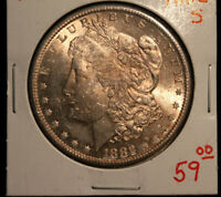 1882 S  MORGAN SILVER DOLLAR $1