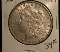 1884 MORGAN SILVER DOLLAR $1