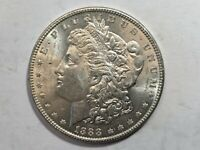 1888-P PL MORGAN SILVER DOLLAR DATE UNC FROM ALBUM COLLECTION MS CONDITION M12