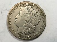 1895-S VF EXTRA FINE  MORGAN SILVER DOLLAR DATE FROM ALBUM COLLECTION M12