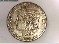 1884-P VAM 4 SMALL DOT TOP 100 MORGAN SILVER DOLLAR
