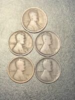1917 D LINCOLN WHEAT CENTS. GREAT BOOK FILLERS. FREE S&H