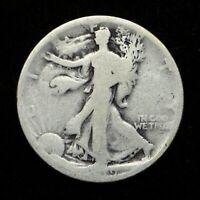 1919 WALKING LIBERTY SILVER HALF LOW GRADE BB4719
